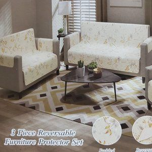 Sofa Cover or Furniture Protector Complete 3pc Set